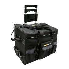 Zippered Tool Bag AWP HP Ballistic Nylon Heavy Duty Rolling Cart Wheels Storage