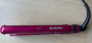 BaByliss 2860BAU Pro Nano 200°C Ceramic Hair Straighteners Pink Travel Mini Smal