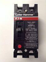 CUTLER HAMMER FS220015A 2 POLE 15 AMP 240 VOLT CIRCUIT BREAKER NEW EC2015