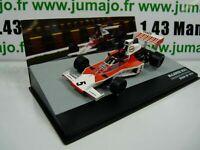 SEN9T eaglemoss 1/43 F1 BRESIL Formule 1 McLaren Ford M23 E.Fittipaldi 1974