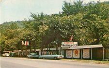 c1960 Cherokee Trading Post, Wheeling, West Virginia Postcard