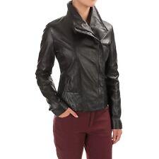 Bod & Christensen Womens Leather Jacket, L, 100% leather Jacket