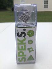Brand NEW - Speks. 512 Rare Earth Magnets Silver Mashable,Smashable & Buildable!