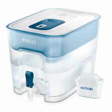 Brita Flow Maxtra+ Water Filter Dispenser Fridge Jug with 1 Cartridge 8.2L Blue