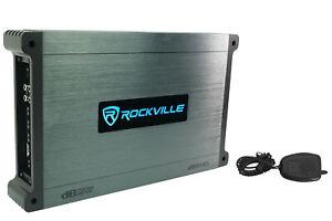 Rockville DBM45 4-Channel 2000w Peak/500w RMS Marine/Boat Amplifier