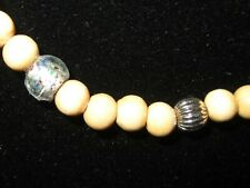 Natural Light Wood Bead Unisex Necklace – Preowned