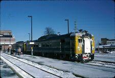 GF VIA RDC train 152 - Original Slide - Halifax, NS