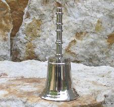 Feines Glöckchen sehr schöner Klang Messing Tischglocke Handglocke Glocke