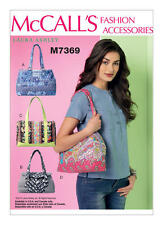 McCalls 7369 Paper Sewing Pattern Laura Ashley Handbags  Now Out Of Print