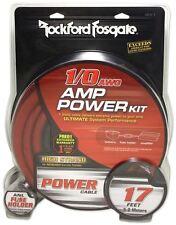 Rockford Fosgate RFK1 1/0 Gauge Amplifier Install Kit Made Of 100% OFC Copper