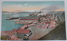 1910 General Birdseye View Of The Water Front Everett Washington Unposted