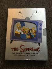The Simpsons Series Season 1 DVD Box Set Collector's Edition One Tv Show