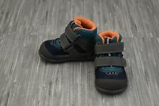 **See Kai Run Atlas WP Boots, Toddler Boy's Size 4, Blue/Grey NEW