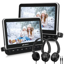 "HD 2 Car Headrest Monitor 10.1 "" DVD Player 1920*1080 USB HDMI AV-IN+ Headphone"