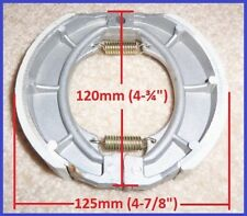 Chinese Scooter Rear Drum Brake Shoes 125cc 150cc GY6 Moped SUNL QMI/QMJ 152/157