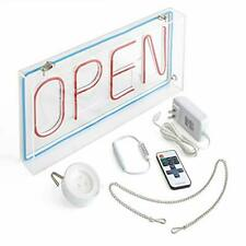 Craft + Creator Open Sign Led - A Neon Style Light for Small Business Retail .