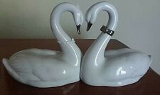 "Lladro Porcelain Swans ""Endless Love"" Spain 2006 Cake Top Or Anniversary"