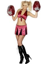 Sexy Cheerleader Costume Small, UK 8-10 American Fancy Dress Ladies Fancy Dress