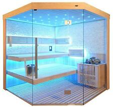Sauna, Sauna komplett,Massivholz TS 4063 Bio WS 180/180