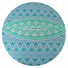 "32"" Indian Ombre Mandala Floor Pillow Round Cushion Covers Bohemian Home Decor"