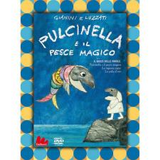 Pulcinella E Il Pesce Magico  [Dvd Nuovo]
