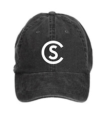 Cole Swindell Logo American Country Music Adult Cotton Washed Baseball Cap