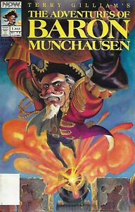 Adventures Of Baron Munchausen Comic 1 Copper Age First Print 1989 NOW