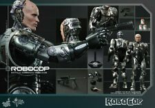 Hot toys 1/6 Action Figure MMS 265 ROBOCOP ALEX MURPHY Battle Damaged Version