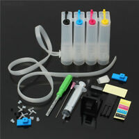 5BBB DIY 4 Colors Refillable Dye Ink Cartridge CISS Fitting Fits With Canon Prin