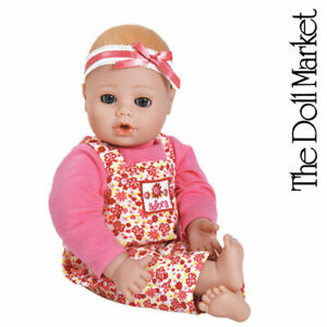 """Adora 13"""" Play Time Baby Flower #203001 with Open/Close Eyes - New in Box"""