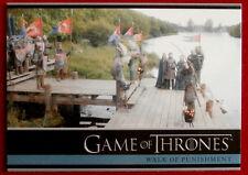 GAME OF THRONES - WALK OF PUNISHMENT - Season 3, Card #07 - Rittenhouse 2014