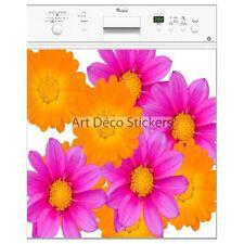 Magnete lavastoviglie decocrazione fiori multicolore 60x60cm ref 058 058