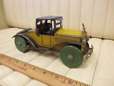 1920s MARX Racer Tin Lithographed Wind Up Clockwork Car