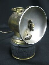 New listing Vintage Justrite Brass Carbide Miner's Cap Lantern