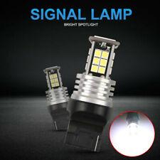 2x T20 7440 W21W WY21W Ampoule LED Clignotant Feu Canbus 3030 Frein Lampe Blanc