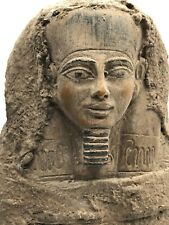 Rare Egyptian Egypt Statue Antique King Tut Ushabti Mummy Carved Stone Bc