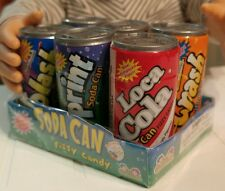 """New 6 Pack of Soda Cans with Candy fits American Girl & 18"""" Dolls - Usa seller"""