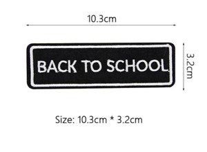 Biker Patches Embroidered Iron on Sew on Word Slogans Patch Transfer Motorcycle