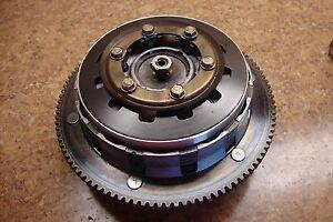 2002 Harley Davidson HD FXD Dyna Super Glide Engine Clutch Plates Housing Gear