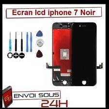 VITRE TACTILE + ECRAN LCD RETINA ASSEMBLÉ SUR CHASSIS POUR IPHONE 7 NOIR + OUTIL