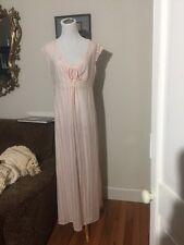 Vintage Dixie Belle Pink Nylon Gown Size  Medium