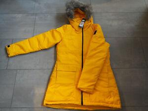 Winterjacke Adidas M Parka gelb