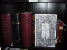 1611 KING JAMES Bible Divine Name TETRAGRAMMATON CARD STOCK FACSIMILE Watchtower