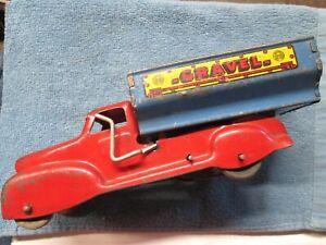 Vintage Marx Gravel Dump Truck - Wind-up Motor - For Parts or Repair