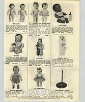 1954  Paper Ad Doll African American Amosandra Pony-Tail Horsman Vinyl Natural