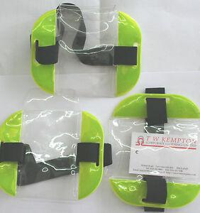 ID Card SIA Security Work Wear Armband Badge Holder Waterproof Hi Vis #20404