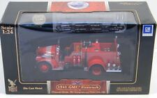Road Signature Yatming 1941 GMC FireTruck Engine 1:24 Diecast Car Red NEW