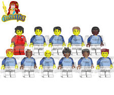LEGO Manchester City Football Team 11 Players 18-19 Jersey Custom Minifigure