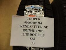 1 NEW COOPER TRENDSETTER SE 195 70 14 90S TIRE W LABEL 90000003264 Q9
