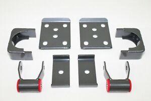 "maxtrac 300550 5"" rear drop shackles flip kit for 88-98 chevy silverado 1500 2wd"